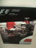 セカンドハンド品●2001 F1世界選手権 カナダGP公式プログラム (状態:特A)