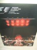 セカンドハンド品●2001 F1世界選手権 オーストリアGP公式プログラム (状態:特A