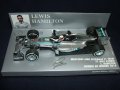 新品正規入荷品●PM1/43 MERCEDES AMG PETRONAS W05 WINNER CHINESE GP 2014 (Lハミルトン) #44