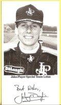 希少品●JPS LOTUS Johnny Dumfries ドライバーカード