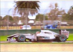 画像1: 2010年 オーストラリアGP A4サイズ マシン フォト Mercedes  (M.シューマッハ)
