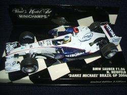 画像1: PMA1/43 BMW SAUBER F1.06 DANKE MICHAEL BRAZIL GP 2006 (N.ハイドフェルド)