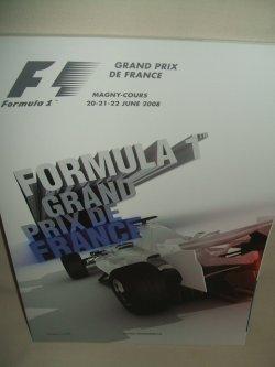 画像1: セカンドハンド品●2008 F1世界選手権 フランスGP公式プログラム (状態:特A)