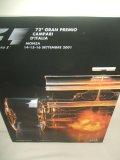 セカンドハンド品●2001 F1世界選手権 イタリアGP公式プログラム (状態:特A)
