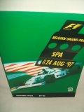 セカンドハンド品●1997 F1世界選手権 ベルギーGP公式プログラム (状態:特A)
