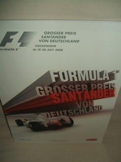 画像1: セカンドハンド品●2008 F1世界選手権 ドイツGP公式プログラム (状態:特A)