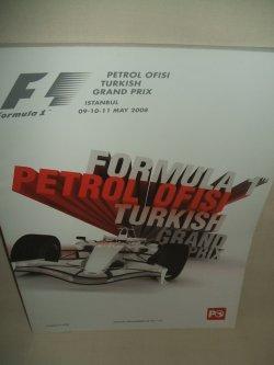 画像1: セカンドハンド品●2008 F1世界選手権 トルコGP公式プログラム (状態:A)