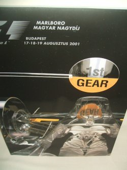画像1: セカンドハンド品●2001 F1世界選手権 ハンガリーGP公式プログラム (状態:特A)
