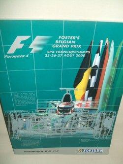 画像1: セカンドハンド品●2000 F1世界選手権  ベルギーGP公式プログラム (状態:特A)