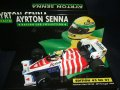 セカンドハンド品●PMA1/43 SENNA COLLECTION No21 TOLEMAN HART TG184 PORTUGAL GP (A.セナ) 1984