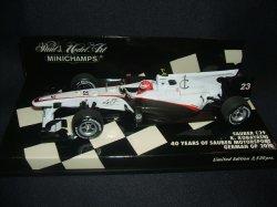 画像1: セカンドハンド品●PMA1/43 SAUBER C29 ザウバー40周年記念モデル (小林可夢偉) GERMAN GP 2010