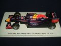 新品正規入荷品●SPARK1/43 INFINITI RED BULL RB10 WINNER CANADA GP 2014 (D.リカルド) #3