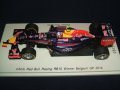 新品正規入荷品●SPARK1/43 INFINITI RED BULL RB10 WINNER BELGIUM GP 2014 (D.リカルド) #3