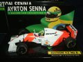 セカンドハンド品●PMA1/43 SENNA COLLECTION No8 McLAREN FORD MP4/8  (A.セナ) 1993