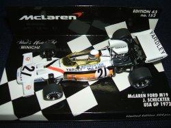 画像1: 新品正規入荷品●PMA1/43 McLAREN FORD M19 USA GP 1972 (J,SCHECKTER) #21
