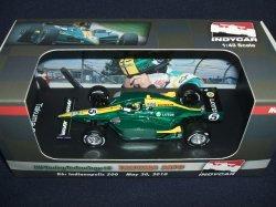 画像1: 新品正規入荷品●GREENLIGHT 1/43 KV RACING TECHNOLOGY  Rd.6  Indianapolis500  (佐藤琢磨) 2010