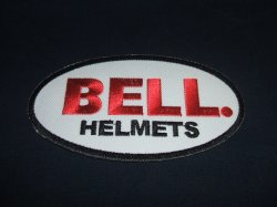 画像1: BELL  ロゴ ワッペン