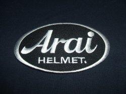 画像1: Arai  ロゴ ワッペン