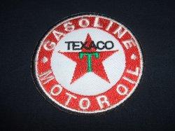 画像1: TEXACO GASOLINE ロゴワッペン