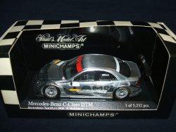画像1: セカンドハンド品●PMA1/43 MERCEDES C-CLASS DTM 2004 TEAM AMG TEST CAR (K.ライコネン)