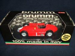 画像1: セカンドハンド品●brumm1/43 Ferrari D50 GRAN BRETAGNA GP 1956 (J.M.FANGIO)