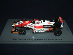 画像1: 新品正規入荷品●SPARK 1/43 SJM THEODORE RACING By PREMA 2nd MACAU GP 2016 (F.ROSENQVIST) #1