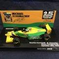 新品正規入荷品●PMA1/43 BENETTON FORD B193B WIINER PORTUGUESE GP 1993 (M.シューマッハ) #5