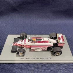 画像1: 新品正規入荷品●SPARK1/43 AGS JH22 6th AUSTRALIAN GP 1987 (R.MORENO) #14