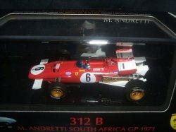 画像1: 新品正規入荷品●マテル1/43 FERRARI 312B  SOUTH AFRICA GP 1971 (M.ANDRETTI) #6