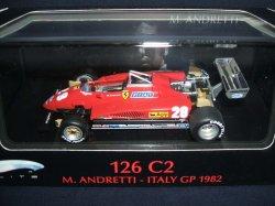 画像1: 新品正規入荷品●マテル1/43 FERRARI 126C2 ITALY GP (M.ANDRETTI) 1982 #28