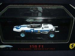 画像1: 新品正規入荷品●マテル1/43 FERRARI 158F1 (J.サーティース) MEXICO GP 1964 #7
