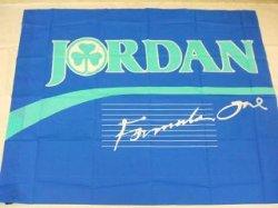 画像1: 90年代 JORDAN F1 大型フラッグ